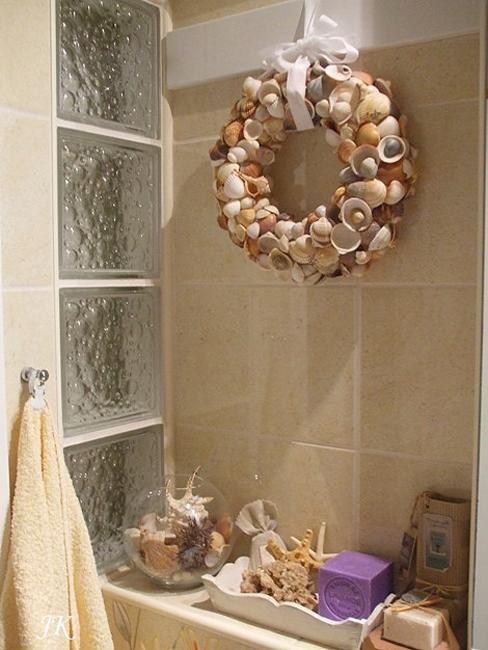 Seashell Bathroom Decor And Craft Ideas