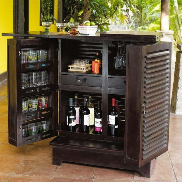 Modern Home Bar Design Ideas: Modern Space Saving Furniture For Home Bar Designs