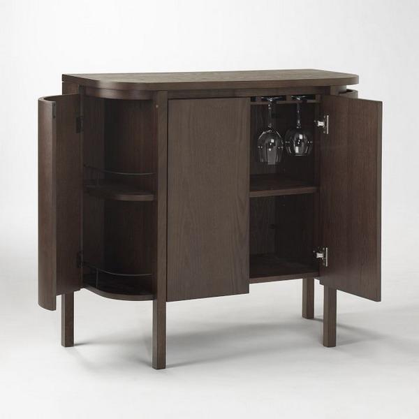 Modern Bar Sets For Home: Modern Space Saving Furniture For Home Bar Designs