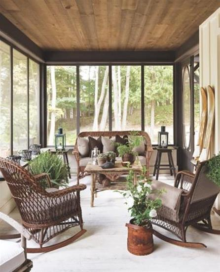 An Elegant And Sustainable Florida Home With Fantastic Views: Summer Home Decorating Ideas Inspired By Rustic Simplicity