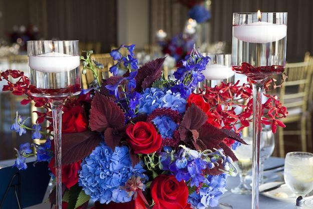 Red White Blue Centerpiece Ideas Best House Interior Today