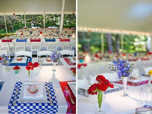 25 Patriotic Decoration Ideas For White Red And Blue Party Table Decor