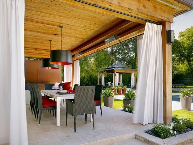 30 Green Backyard Landscaping Ideas Adding Privacy to ...