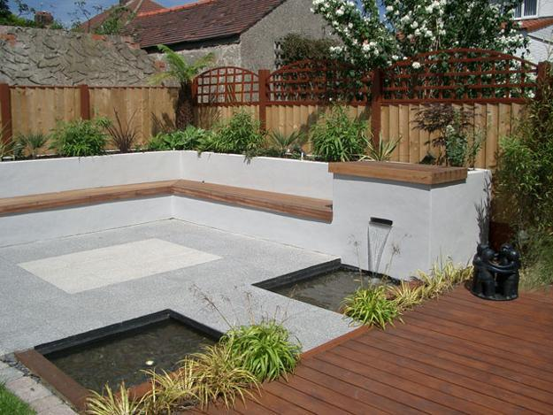30 green backyard landscaping ideas adding privacy to - Small backyard landscape designs ...
