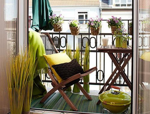 33 Small Balcony Designs and Beautiful Ideas for Decorating Outdoor ...