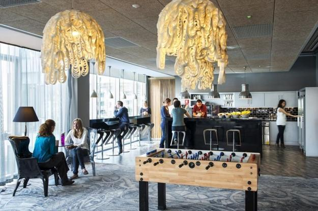 modern lighting fixtures and office design ideas