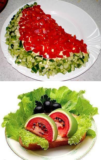 Watermelons Inspired Creative Food Design Ideas And Summer Party Table Decorations