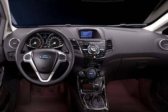 Ford Fiesta Featuring Modern Car Interior Design Won The Best Car