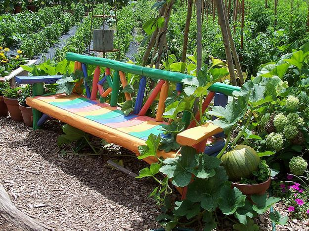 handmade wooden benches for outdoor home decor