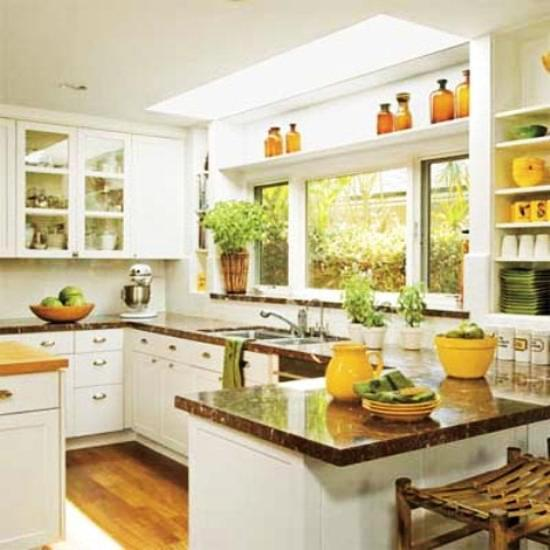 Yellow Paint For Kitchen Walls: 20 Modern Kitchens Decorated In Yellow And Green Colors