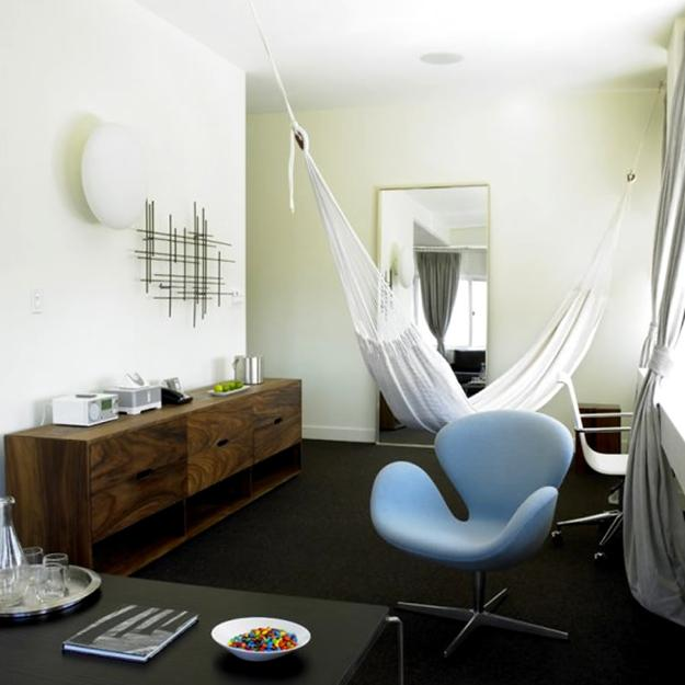 Creative Room Decorating Ideas Adding Fun Of Hammocks To