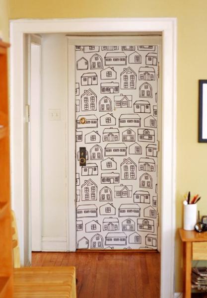 Bedroom Door Decorations Classical: 30 Creative Interior Door Decoration Ideas Personalizing