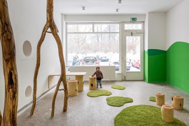 Creative Nature Inspired And Modern Kids Playroom Ideas