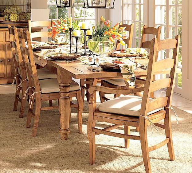 Wood Tableware Simple