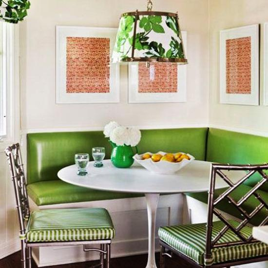 Dining Room Color Ideas: 25 Ideas For Dining Room Decorating In Yelow And Green Colors