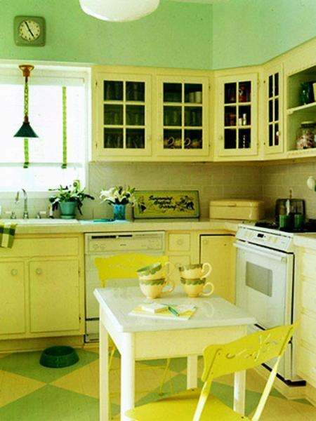 Small Kitchen Ideas Vintage Cupboards
