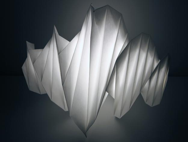 Plastic Recycling Lighting Fixtures By Issey Miyake Winning
