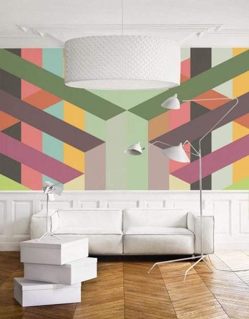 Creative Wall Murals Prints And Modern Wallpaper In Muted