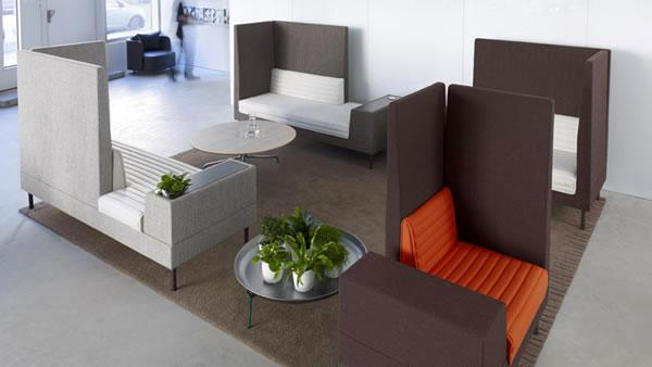 modern interior design with modular furniture