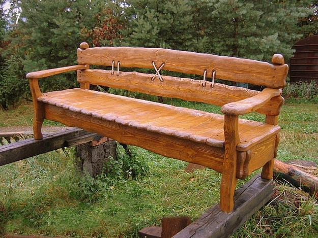 33 Wooden Benches Complimenting Garden Design And Backyard Landscaping
