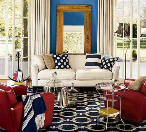 30 Patriotic Home Decoration Ideas In White Blue And Red