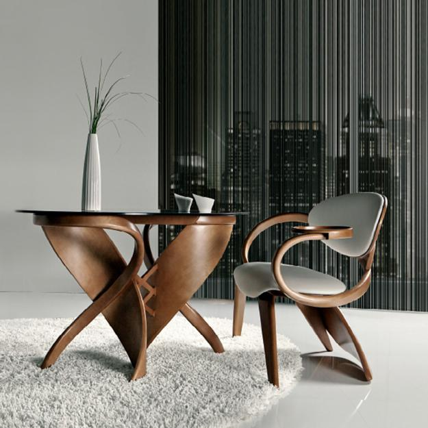 sculptures and hand carved wood furniture for modern interior design
