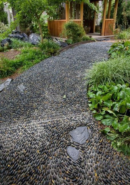 Japanese Garden Wall Design