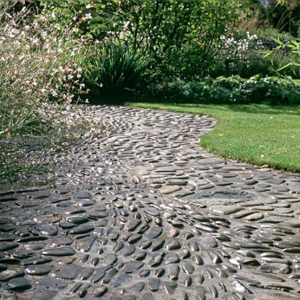 26 Fabulous Garden Decorating Ideas With Rocks And Stones: Beautiful Garden Path Designs And Ideas For Yard