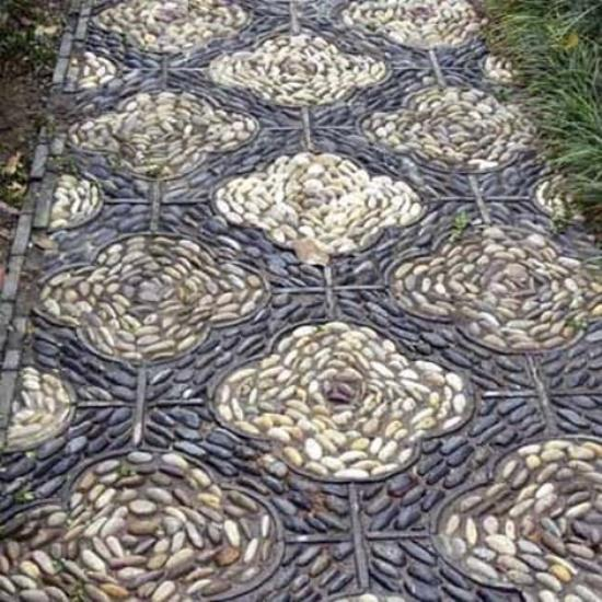 Making A Wonderful Garden Path Ideas Using Stones: Beautiful Garden Path Designs And Ideas For Yard