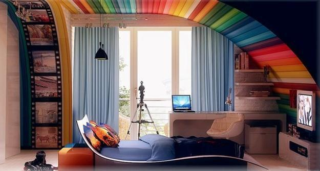 Modern Ideas for Teenage Bedroom Decorating in Unique ...