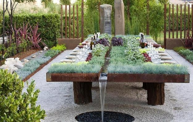 miniature garden designs on table tops