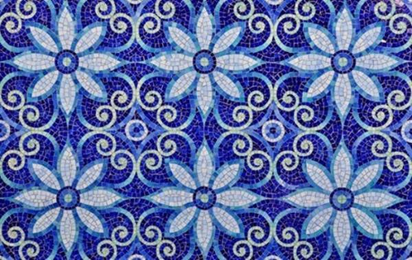 Modern Wall Tile Designs In White And Blue Colors Inspired By Famous Delfware