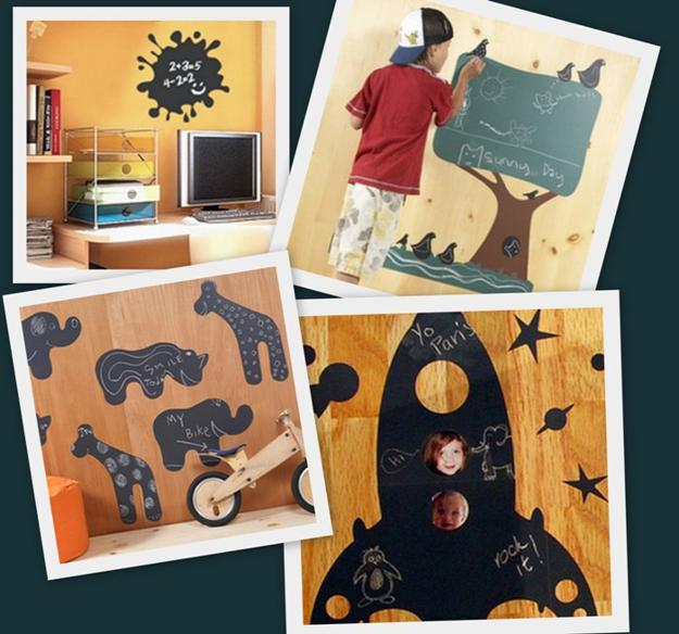 30 Modern Home Decor Ideas: 30 Interior Decorating Ideas To Use Chalkboard Paint And