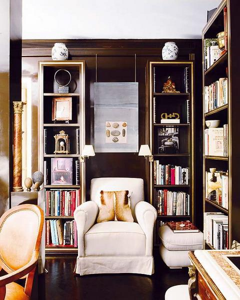 Living Room Library Design Ideas: 22 Beautiful Home Library Design Ideas For Large Rooms And