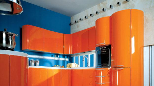 Tips For Kitchen Color Ideas: 25 Ideas For Modern Interior Decorating With Orange Color