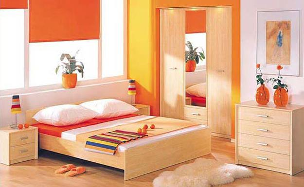 Bedroom Colors Orange 25 ideas for modern interior decorating with orange color shades