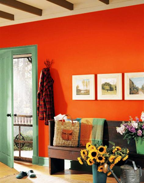 20 Beautifully Smooth Streamlined Walls Designed By: Matching Colors Of Wall Paint, Wallpaper Patterns And