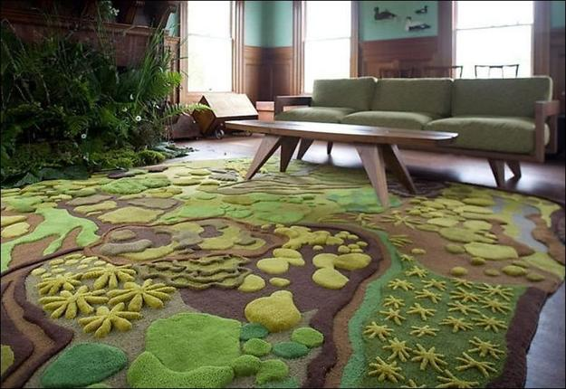 Moss And Green Gr Inspired Floor Rugs Carpets