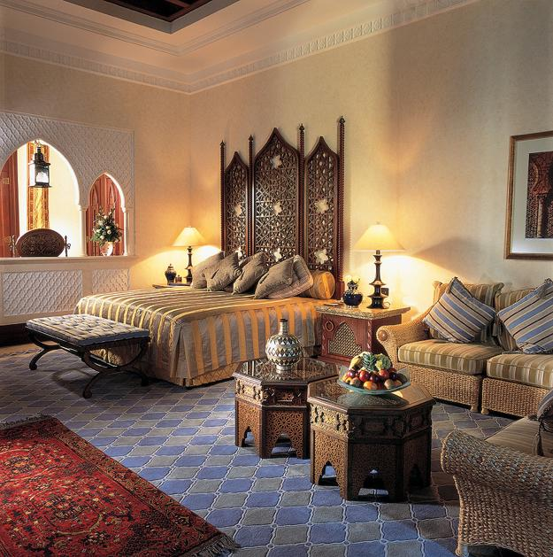 Delicieux Modern Interior Design In Moroccan Style Blending Chic And Comfort With  Rich Room Colors