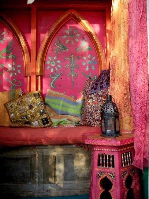 moroccan inspired furniture. moroccan style interior design orange