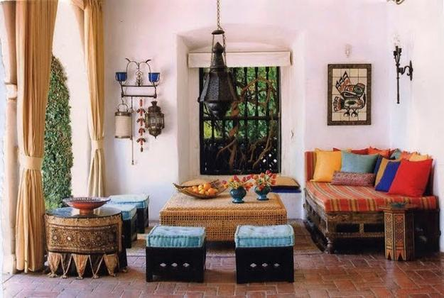 Modern Interior Design In Moroccan Style Blending Chic And ...