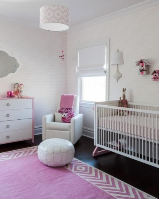 33 Wonderful Girls Room Design Ideas: 22 Baby Room Designs And Beautiful Nursery Decorating Ideas