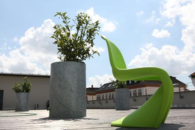 plastic furniture, designer chairs, pantone chairs in modern interiors