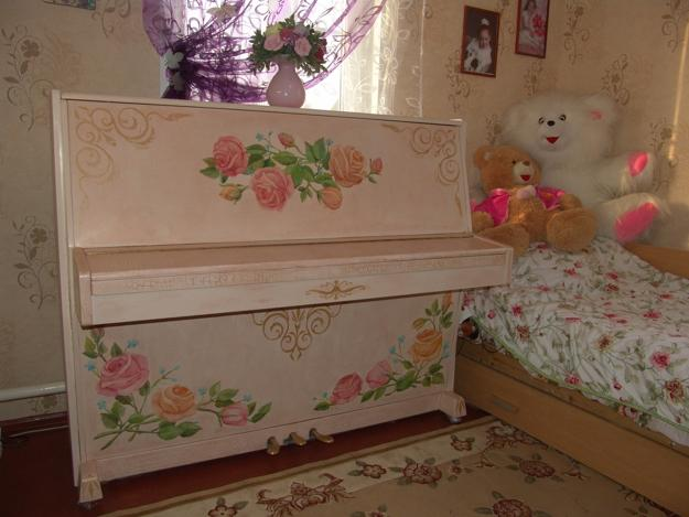 painting and decorating ideas for piano