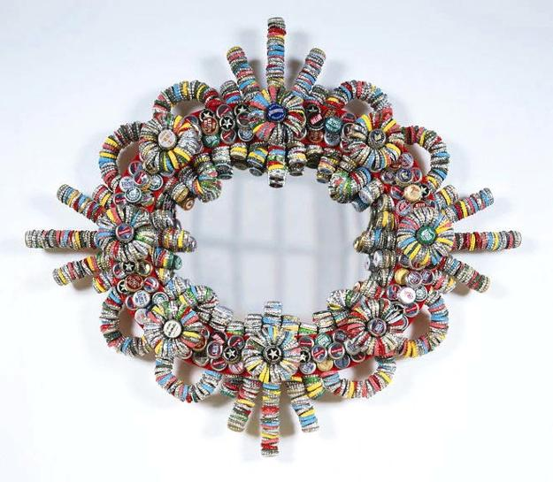 how to reuse and recycle bottle caps for home decorating