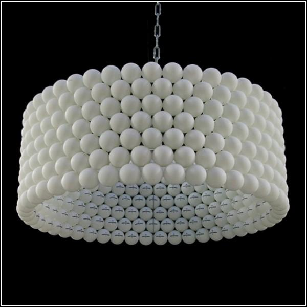how to reuse and recycle tennis balls for handmade decorations and lighting fixtures