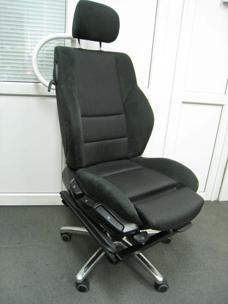 Recycling Car Shell And Black Leather Seat For Modern Sofa