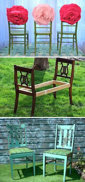 22 Creative Ways To Reuse And Recycle Old Chairs