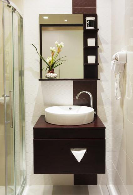 Simple Modern Powder Room