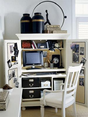 Small Office Furniture Layout Space Saving